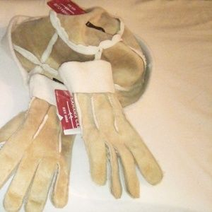 Ladies 2pc Sahara Club Hat/Glove